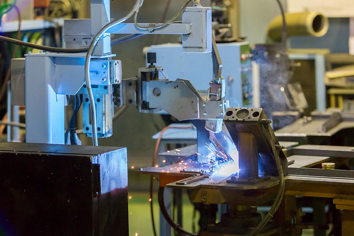 アングルフランジ自動溶接機